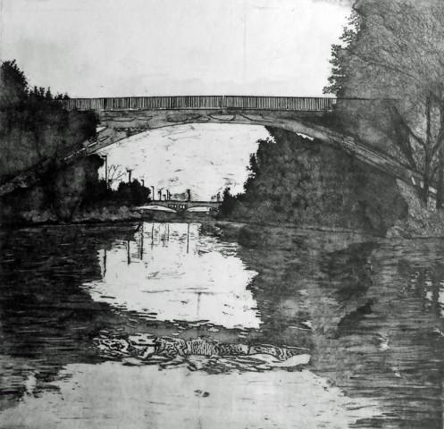 Winchester Street Bridge – From my canoe